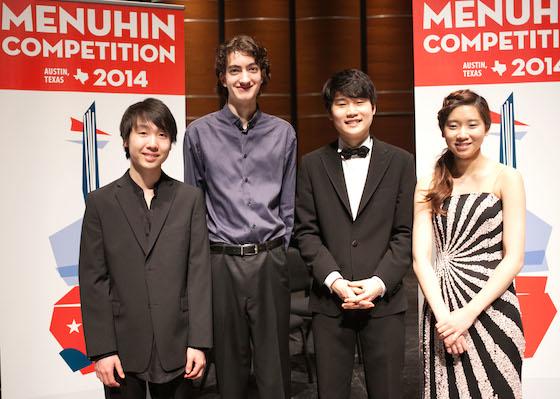 Senior Division Laureates Announced in Menuhin Competition in Austin