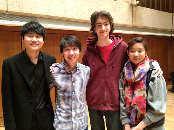 Senior Finalists for the Menuhin Competition announced!