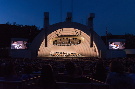 Augustin Hadelich at the Hollywood Bowl 2018