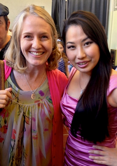 Laurie and Sarah Chang