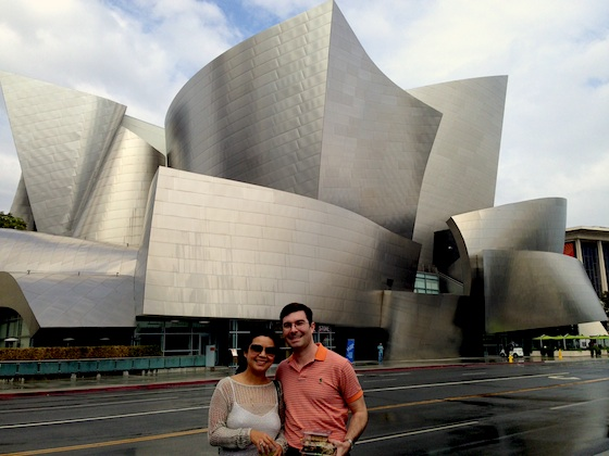 Nathan Cole at Disney Hall