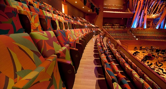 Disney Hall chairs