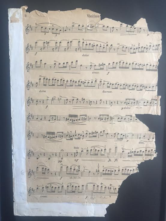 Dog ate my Paganini