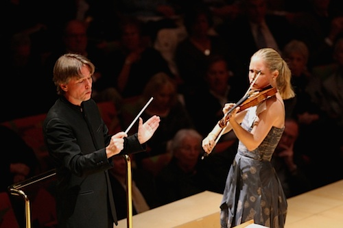 Esa-Pekka Salonen and Leila Josefowicz