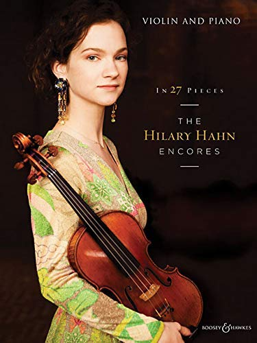 Hilary Hahn Encores book