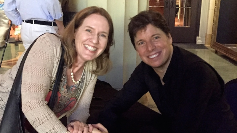 Laurie Niles, Joshua Bell