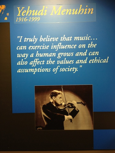 Menuhin saying