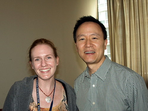 Laurie Niles and David Kim