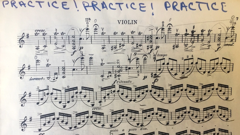 Practice Mendelsssohn