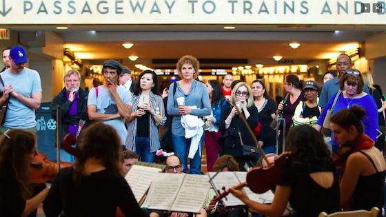 quartet, Bach in Subways 2015