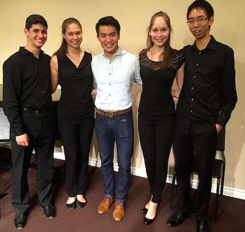 quartet with Ray Chen