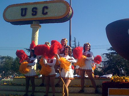 More pictures from the 2009 Rose Parade