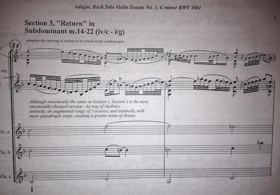Bach recap