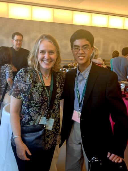 With Eric Tsai