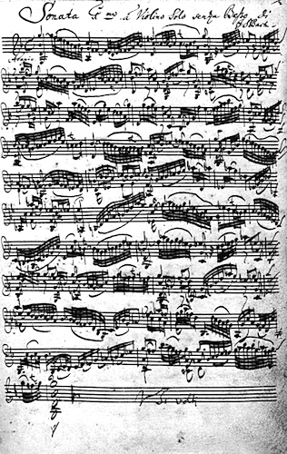 Bach G minor adagio