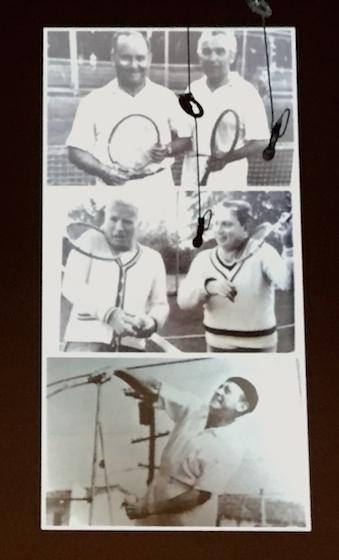 tennis violinists