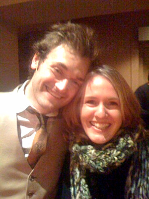 Chris Thile and Laurie Niles