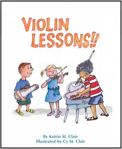 Violin Lessons Book