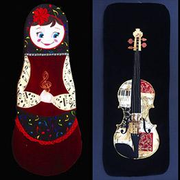 violin blankets