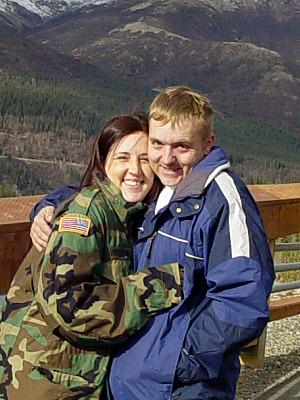 Carissa and Timothy Weston in Alaska